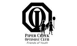 Piper Creek Optimist Club logo